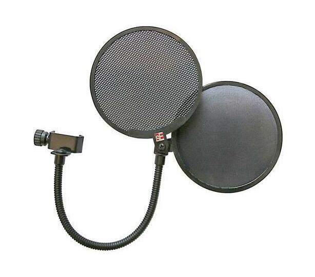 sE Electronics Dual Pop Filter - Metal and Fabric Shield
