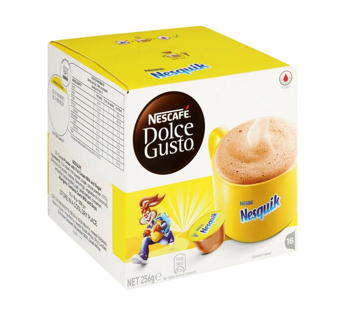 Nescafe Dolce Gusto Coffee Pods Nesquik Chocolate (3 x 256g)