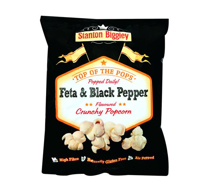 Stanton Biggley Popcorn Feta and Black Pepper (12 x 45g)