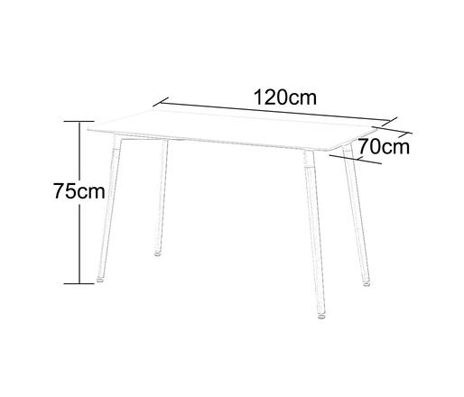 Teevio Plastic Table - Black