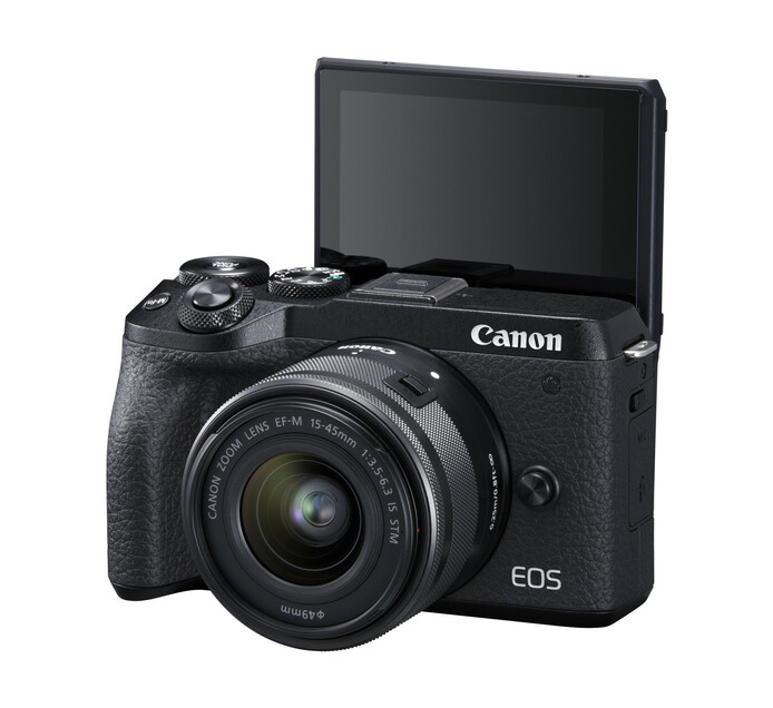 Canon EOS M6 II Camera and 15-45mm IS STM Lens