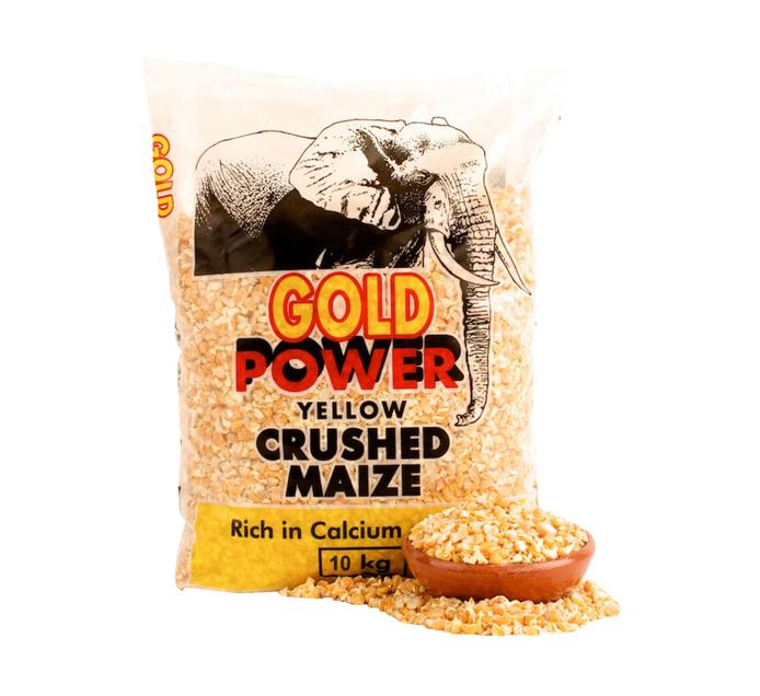 Drakensberg Crushed Yellow Maize (1 x 10kg)