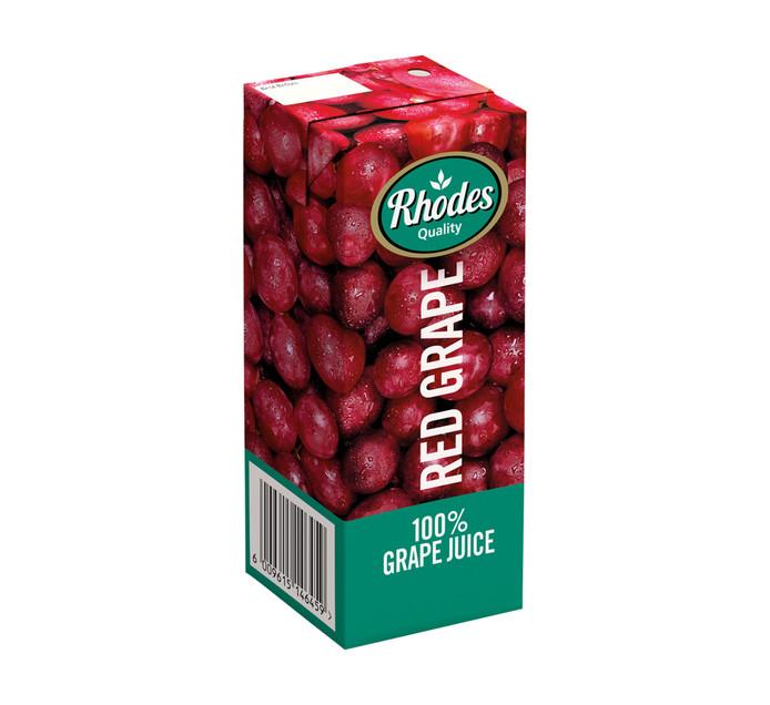 Rhodes Fruit Juice Blend Red Grape (24 x 200ml)
