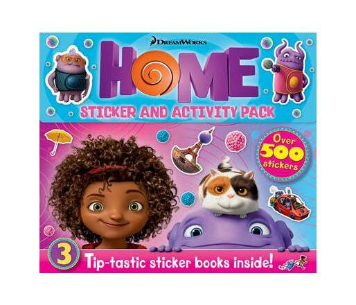 Home Sticker And Activity 3 Book Box-Set
