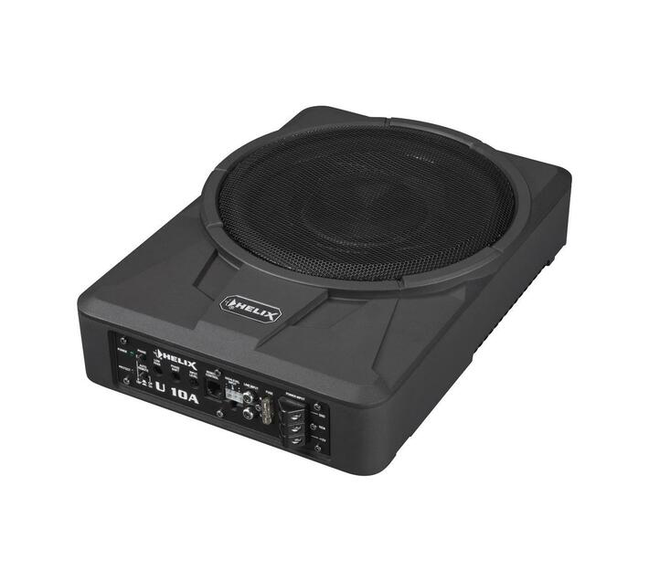 Helix U 10A- Ultra-compact 25 cm / 10` active subwooferPower RMS / max.: 180 / 360 Watts