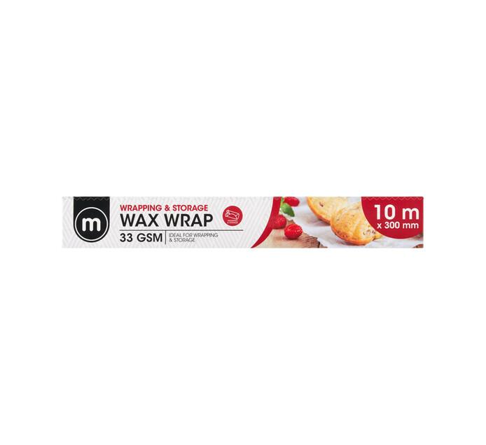 M Brand Wax Wrap (1 x 10m x 300mm)