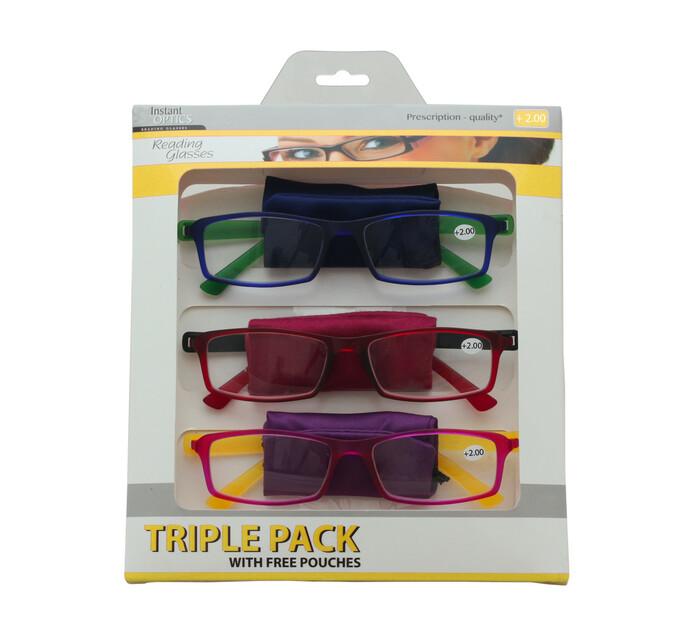 Instant Optics Triple Pack 2 - 2.00