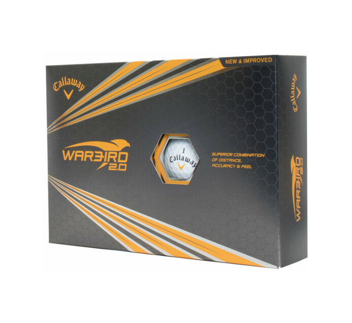 CALLAWAY 12 pack Warbird Golf Ball