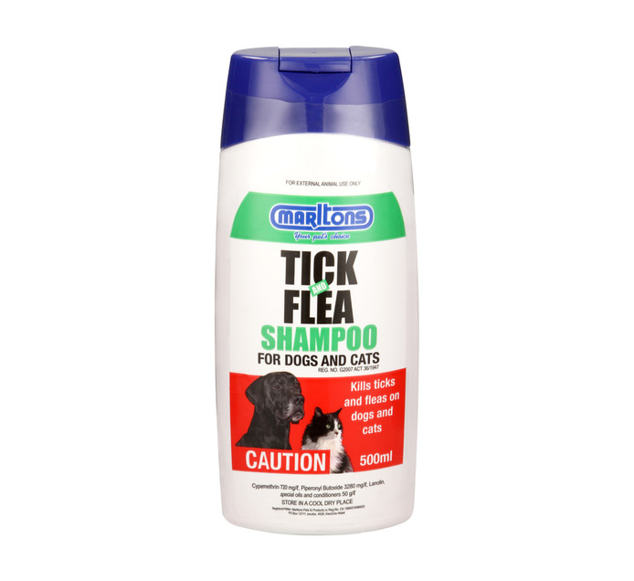 MARLTONS Tick & Flea Shampoo (1  x 500ml)