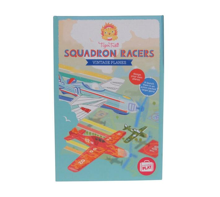 Tiger Tribe Squadron Racers- Vintage Planes