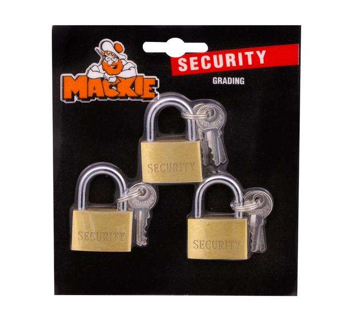 Mackie 30mm Security Padlock