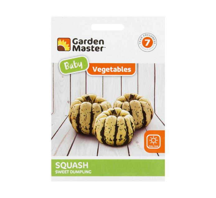 Gardenmaster Baby Vegetables Squash---Sweet Dumpling