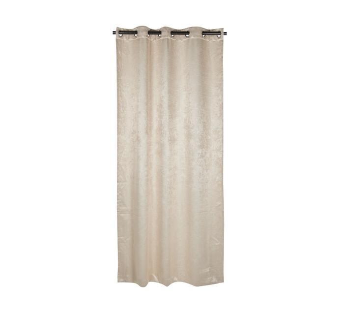 Republic Umbrella 135 cm x 250 cm Madison Blockout Eyelet Curtain Natural