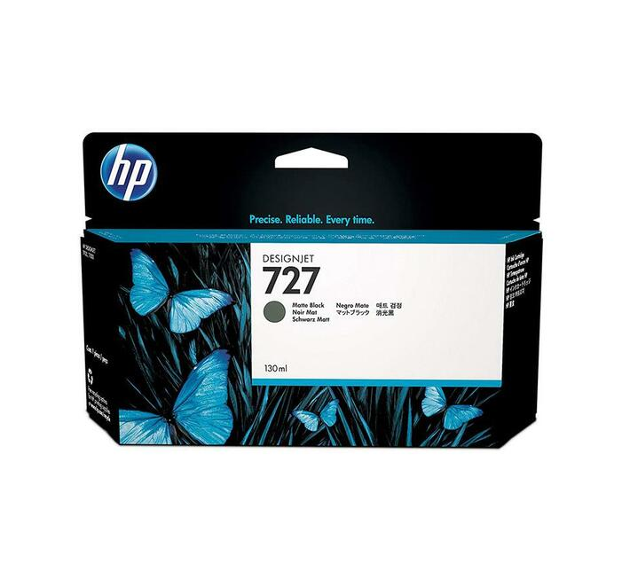 HP 727 - matte black - original - ink cartridge