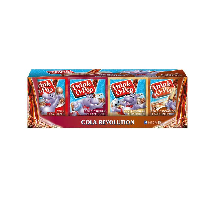 Drink O Pop Powder Drink Cola Revolution (72 x 5g)