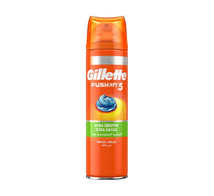 Gillette Mach3 Shaving Gel Ultra Sensitive (200ml)