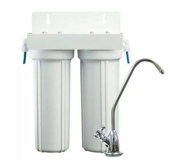 2 Stage Under Counter Filtration System with Carbon Block Filter