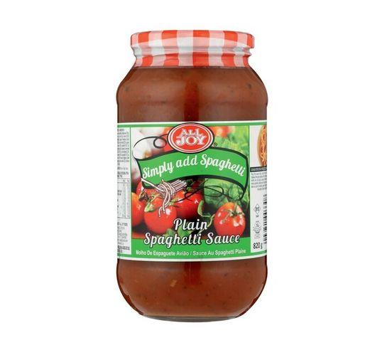 All Joy Spaghetti Sauce Plain (1 x 820g)