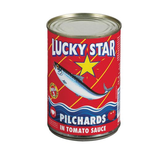 Lucky Star Pilchards in Tomato Sauce (1 x 400g)