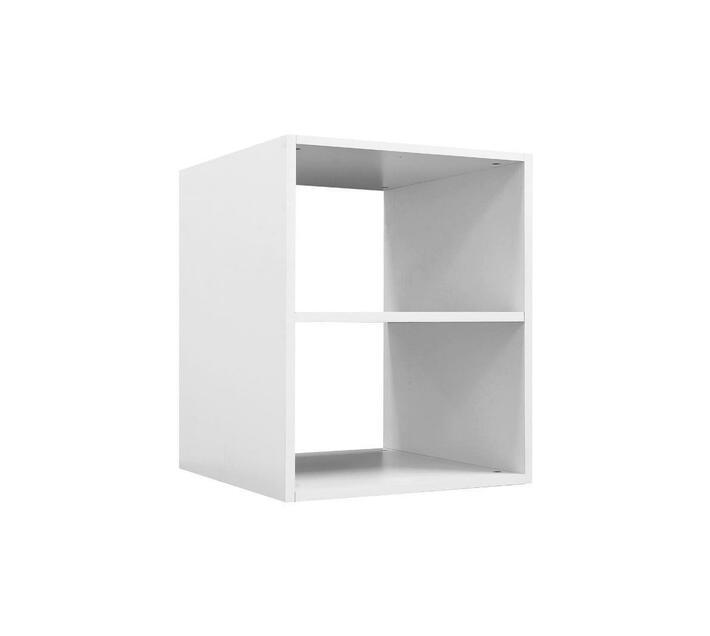 Space Saver Open Shelf Melamine White