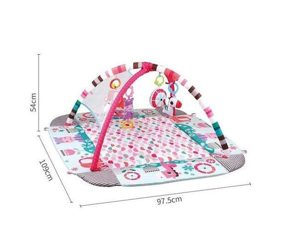 Totland 5 in 1 Activity Gym - Pink