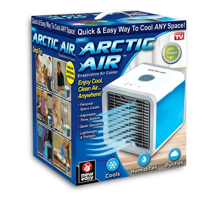 Ontel Arctic Personal Air Cooler (White)