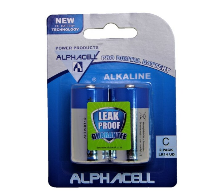 Alphacell size C battery 2p