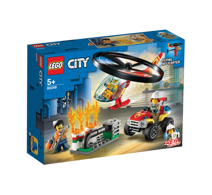 LEGO CITY FIRE FIRE HELICOPTER RESPONSE