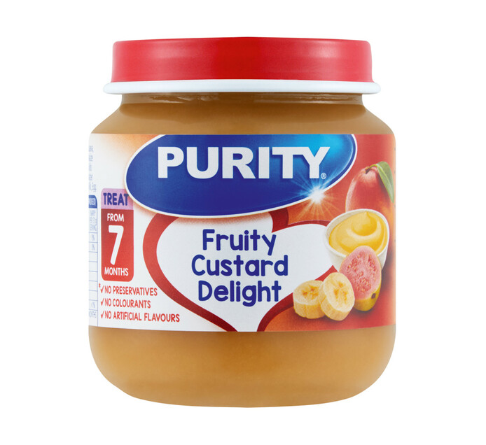 Purity 2nd Foods Custard Delight (6 x 125ML)
