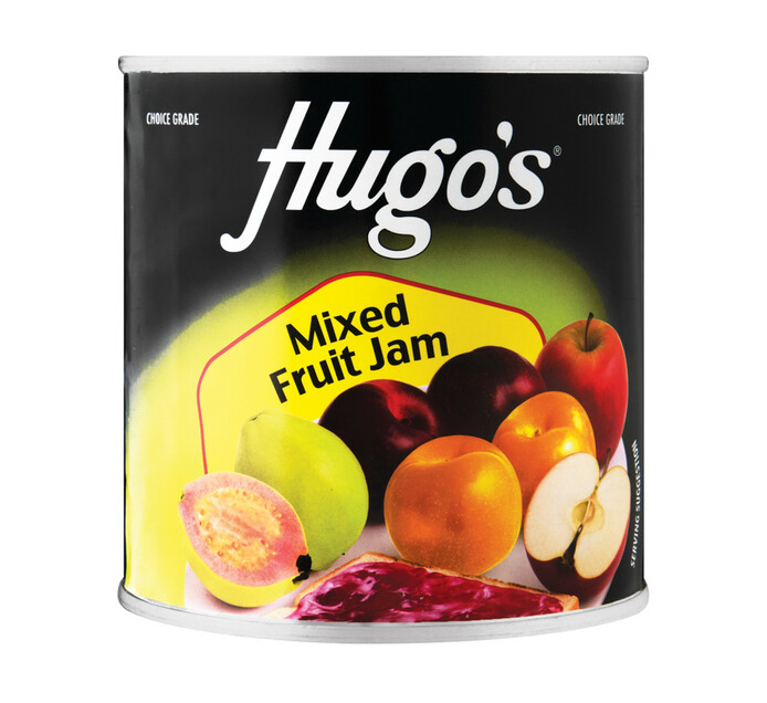 Hugo's Mixed Fruit Jam (1  x 900g)