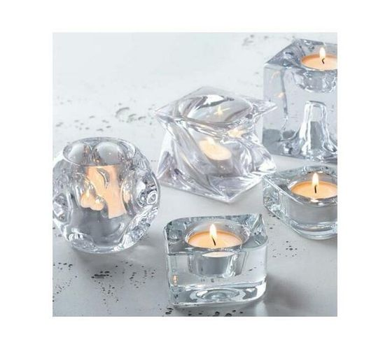 Leonardo Tealight Candle Holder Tablelight 8 SWIRL