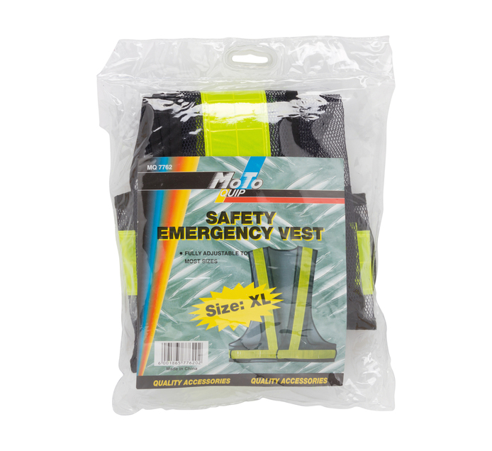 MOTO-QUIP extra large Safety Emergency Vest