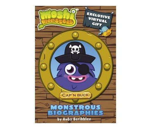 Moshi Monsters Monstrous Biographies: Cap`n Buck