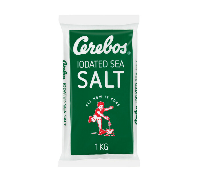 Cerebos Table Salt bag (20 x 1kg)