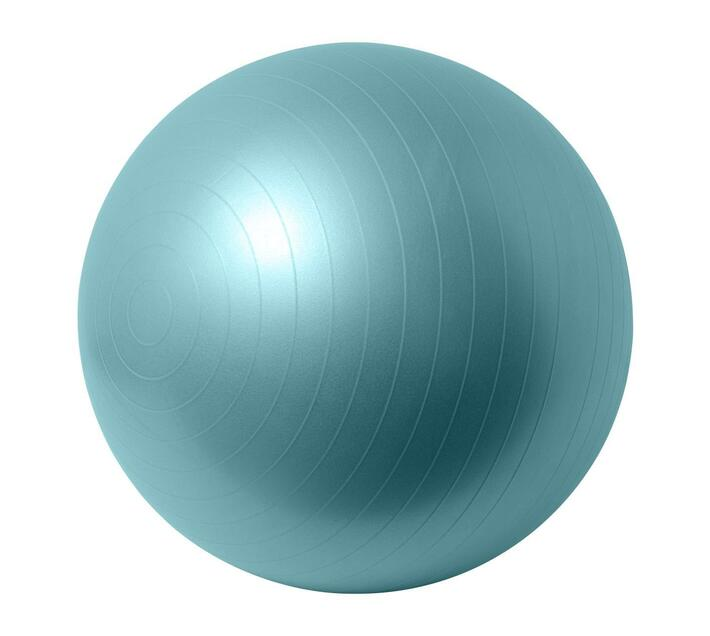 Volkano Active Anti-Burst 65cm Gym & Yoga Ball in Mint with Anti-Slip Strips and Matte Surface