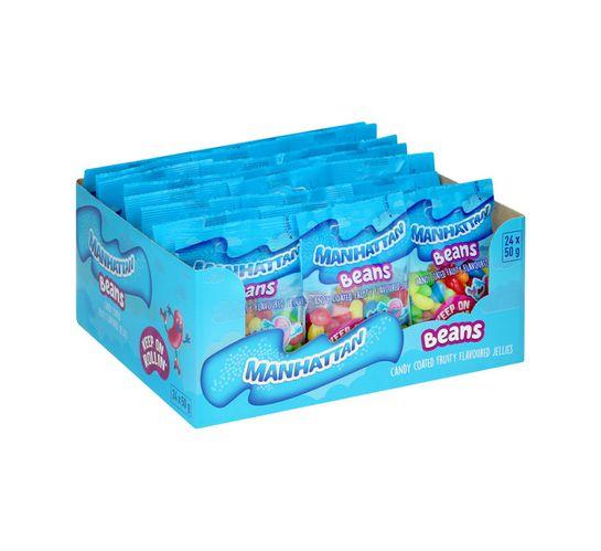 Manhattan Mini Prepacks Fruity (24 x 50g)