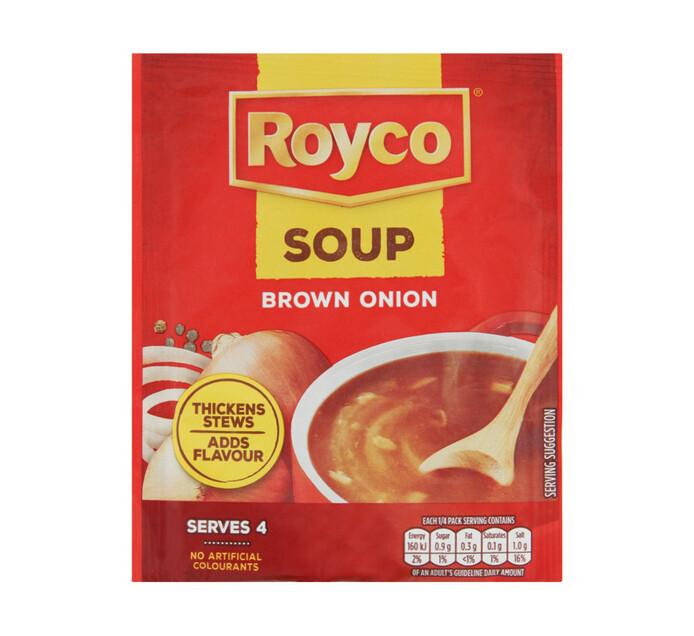 Royco Regular Packet Soup Brwn Onion (1 x 55G)