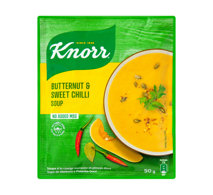 Knorr Packet Soup Butternut And Sweet Chilli (60 x 50g)