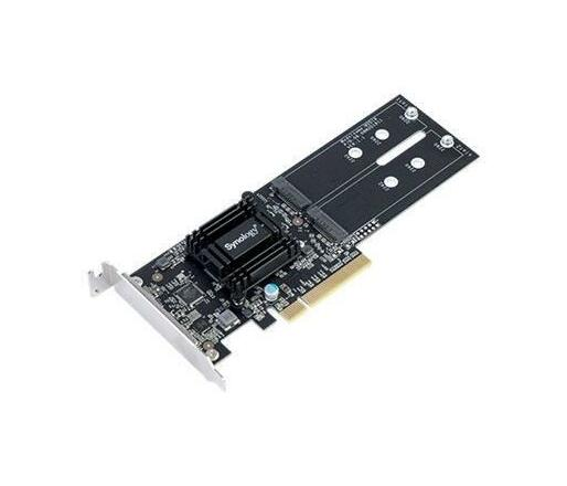 Synology M2D18 - storage bay adapter - M.2 Card - PCIe 2.0 x8