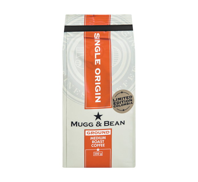 Mugg & Bean Coffee Colombia (1 x 250g)