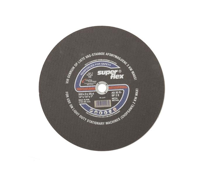 SUPERFLEX CUTT DISC STEEL 350X3X25.4