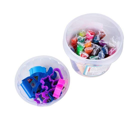 Deli Stationery Dough 24 Colors, Net Weight: 340G Asst.