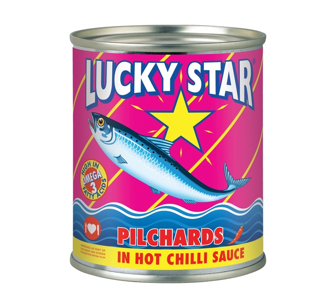 Lucky Star Pilchards in Chilli Sauce (24 x 215g)