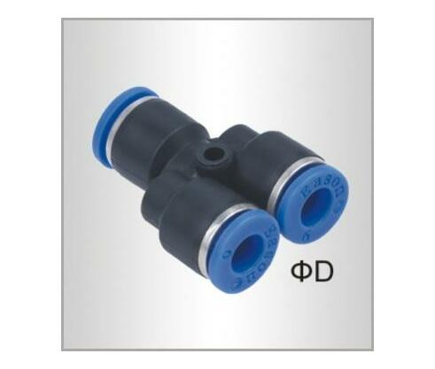PU HOSE FITTING Y JOINT 6MM