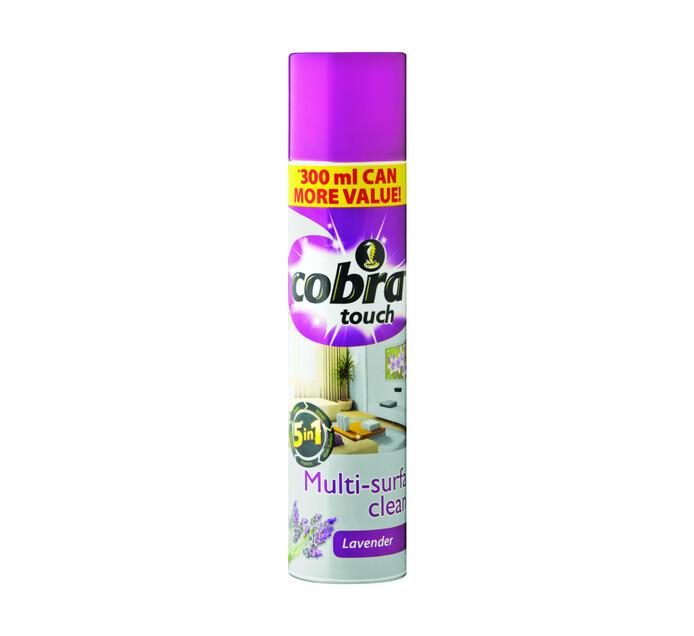 Cobra Multi Surface Cleaner Lavender (1 x 300ml)