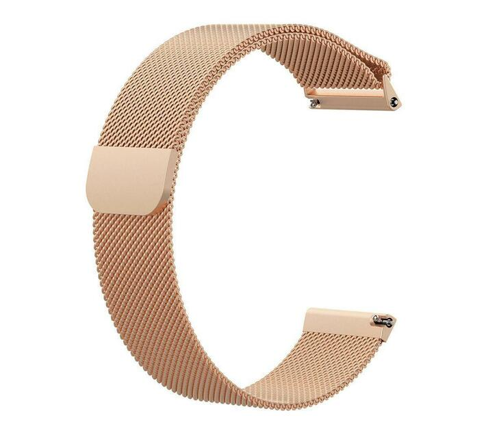 Linxure Milanese Fitbit Versa Strap Rose Gold - Small