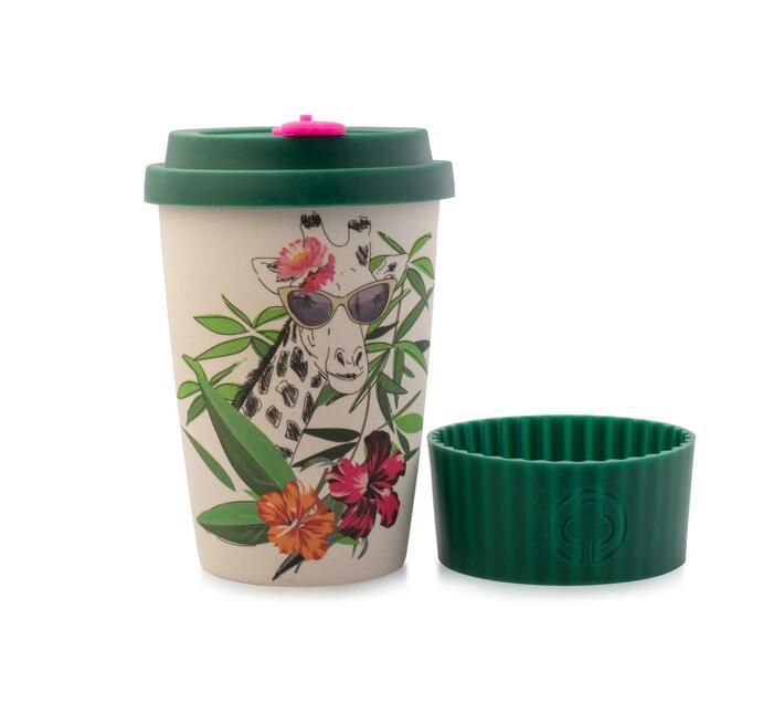 Bamboo Cup 400ml Safari