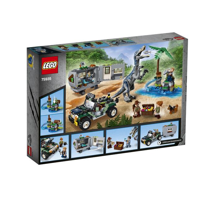 Lego Jurassic World Baryonyx Face-Off