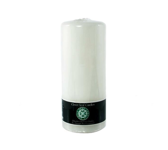10x18cm Pillar Candle White