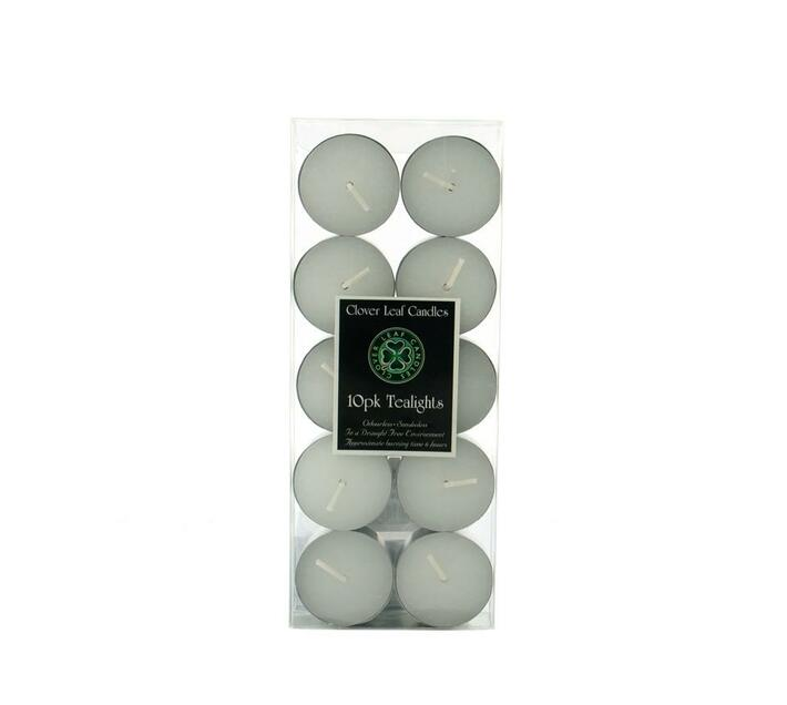 10pk Tealights Candles - 6 Hour